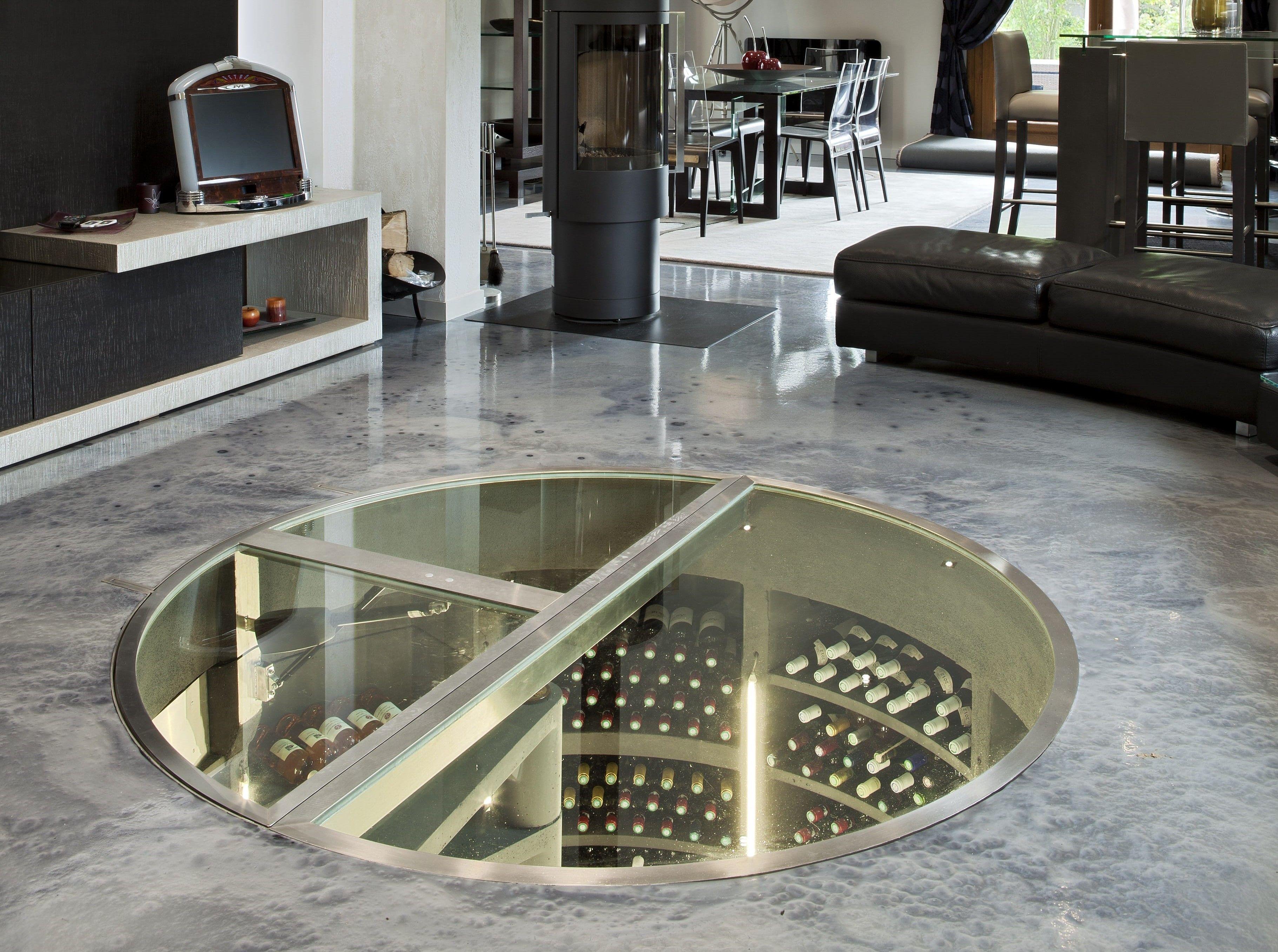 Concrete Underground Wine Cellars